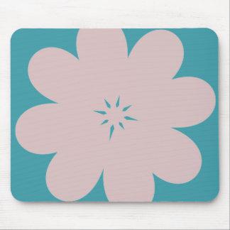 Simple Purple Flower Mouse Pad