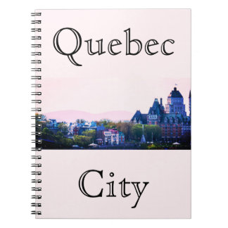 Simple Quebec City Notebook