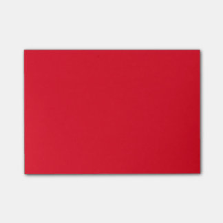 Simple Red Post-it Notes
