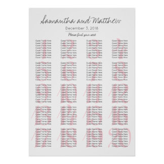 Simple Romantic Blush Wedding - More Tables Poster