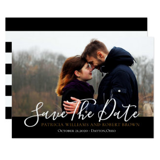 Simple Save The Date Photo Card