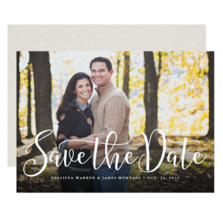 Simple script save the date card