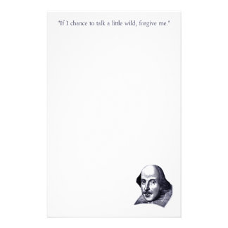 Simple Shakespeare Stationery