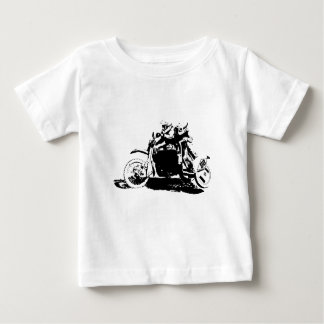 Simple Sidecarcross Design Baby T-Shirt