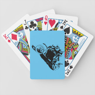 Simple Sidecarcross Design Bicycle Playing Cards
