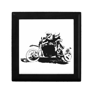 Simple Sidecarcross Design Gift Box
