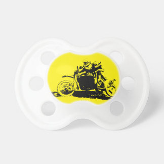 Simple Sidecarcross Design Pacifier
