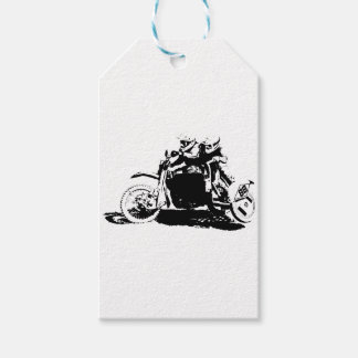 Simple Sidecarcross Design Pack Of Gift Tags