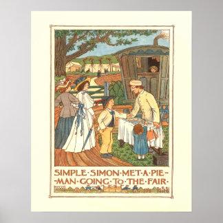"""Simple Simon"" Poster"