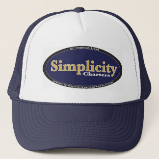 Simple Simplicity Gear Trucker Hat