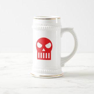Simple Skull Beer Stein