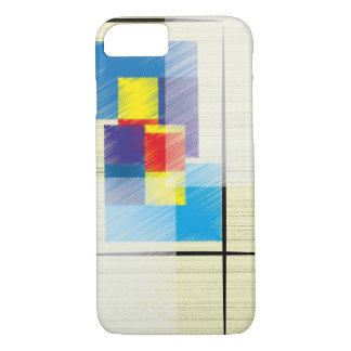 Simple Squares and Rectangles Geometric Patterned iPhone 8/7 Case