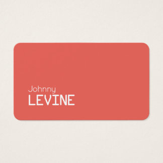 Simple stand out modern business card