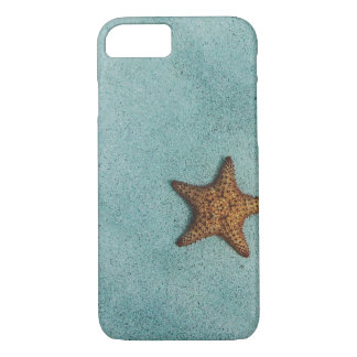 Simple Starfish on Beach Photo iPhone 8/7 Case