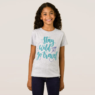 Simple Stay Wild Go Travel   Jersey Shirt