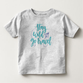 Simple Stay Wild Go Travel | Shirt