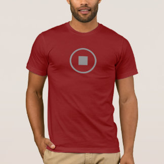 Simple Stop Icon Shirt