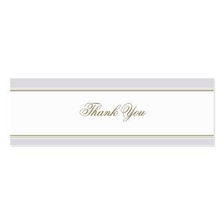 Simple Stripe Mauve Favor Gift Tag Business Card Templates