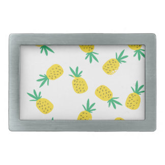 Simple summer pineapple cartoon pattern belt buckle