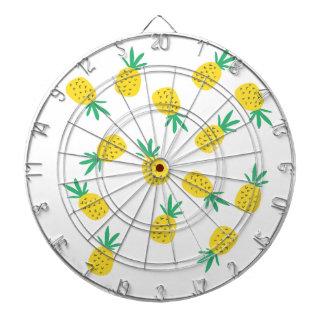 Simple summer pineapple cartoon pattern dartboard