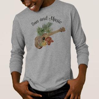 Simple Sun and Music Beach Summer | Sleeve Shirt