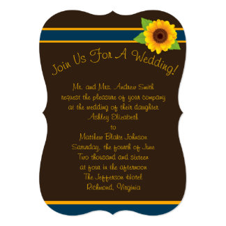 Simple Sunflower Collection Card