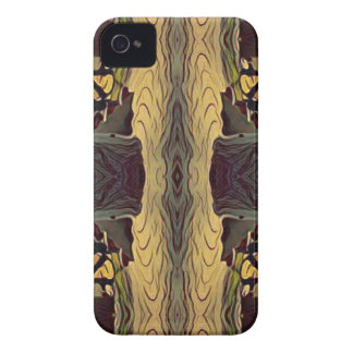 Simple Symmetrical Masculine Pattern iPhone 4 Case-Mate Case
