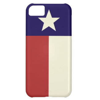 Simple Texas Flag iPhone 5C Cover