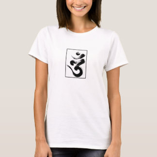 Simple Tibet OM symbol tshirt Om Mani Padme Hum