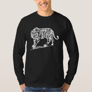 Simple Tiger in white T-Shirt