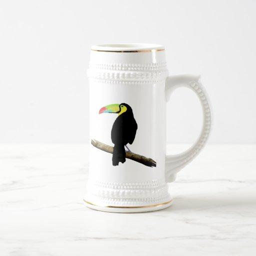 Simple Toucan Mugs