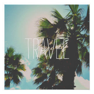 Simple Travel Template Perfect Poster
