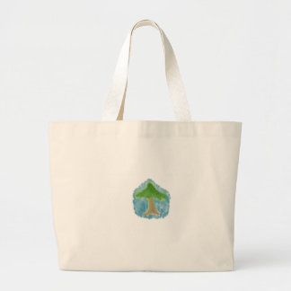 Simple Tree Large Tote Bag
