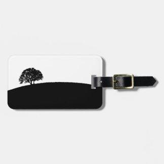 Simple Tree Luggage Tag