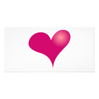 Simple Valentine Personalized Photo Card