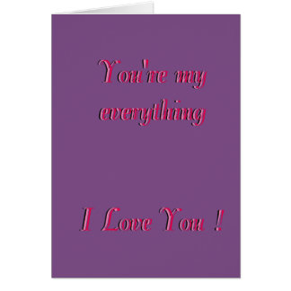 Simple Valentine's Day Card