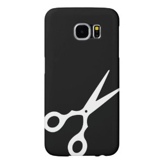Simple Vector Scissors (Pick Your Own Color) Samsung Galaxy S6 Cases