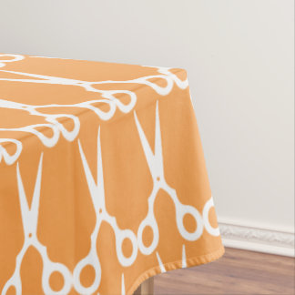 Simple Vector Scissors (Pick Your Own Color) Tablecloth