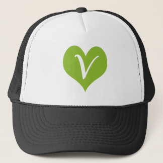 Simple Vegan Graphic Trucker Hat