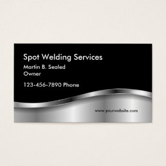 Simple Welding Business Cards