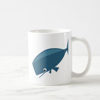 Simple Whale Coffee Mug