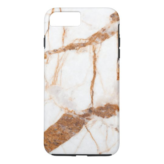 Simple White Marble Texture Personalized Case-Mate iPhone Case