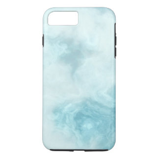 Simple White Marble Texture Personalized iPhone 8 Plus/7 Plus Case