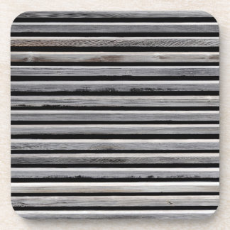Simple Wood Stripe Pattern Coaster