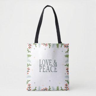 Simple yet Elegant Christmas Wreath   Tote Bag