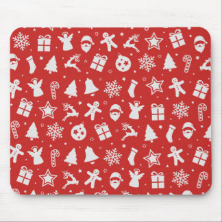 Simple yet Lovely Ditsy Christmas | Mousepad