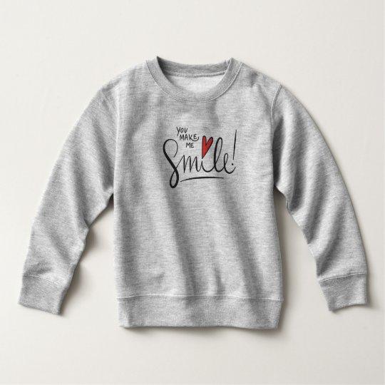 Simple yet Pretty You Make Me Smile   Sweatshirt