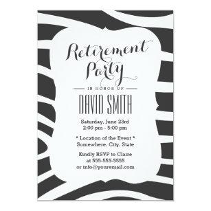 Simple Retirement Party Invitations & Announcements