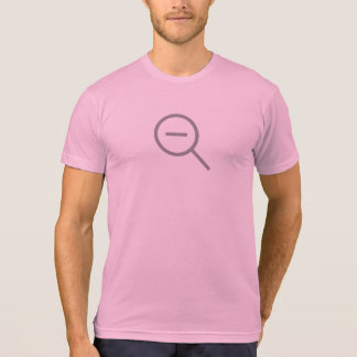Simple Zoom Out Icon Shirt