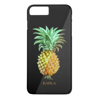 SimpleGeometric  PineApple Vintage Illustration iPhone 8 Plus/7 Plus Case